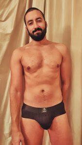 Sean Monroe wearing Pothos Underwear